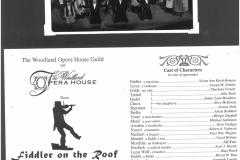 Fiddler on the Roof spring 1997