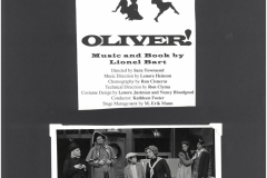 Oliver! fall 1996