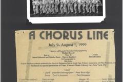 A Chorus Line July 1999