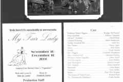 My Fair Lady Dec 2000