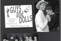Guys and Dolls Oct. 2001
