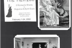 The Heiress Feb. 2002