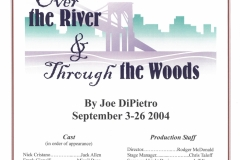 Over the River and Through the Woods Sept. 2004