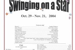 Swinging on a Star Oct. 2004