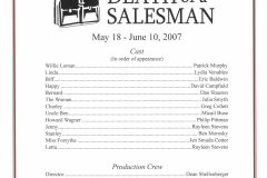 Death of a Salesman May 2007