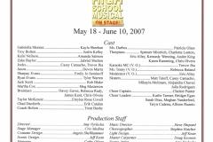 High School Musical May 2007