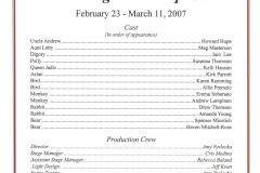 The Magicians Nephew Feb 2007