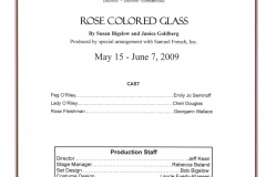 Rose Colored Glass May 2009