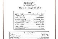 Noises Off March 2010