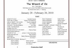 The Wizard of Oz Jan 2010