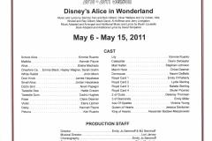 Disneys Alice in Wonderland May 2011