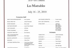 Les Miserables July 2010