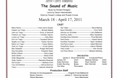 The Sound of Music March 2011