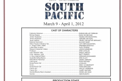 South Pacific March 2012
