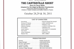 The Canterville Ghost Oct 2011
