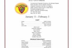 Godspell Jan 2013