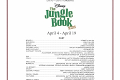The Jungle Book April 2014
