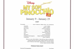 My Son Pinocchio Jan 2015