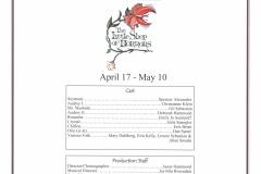 The Little Shop of Horrors April 2015