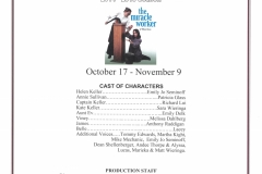 The Miracle Worker Oct 2014