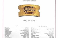 Charlie and the Chocolate Factory May 2015
