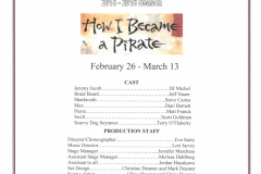 How I Became a Pirate Feb. 2016