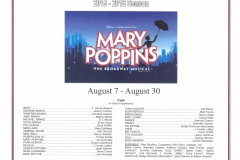 Mary Poppins Aug 2015