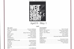 West Side Story April 2016
