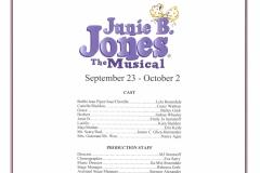 Junie B Jones Sept 2016