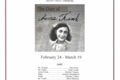 The Diary of Anne Frank Feb 2017