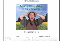 Anne of Green Gables Sept 2017