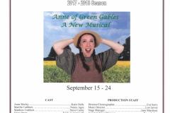 Anne of Green Gables Sept 2017