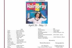 Hairspray May 2018