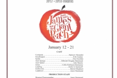 James and the Giant Peach Jan 2018